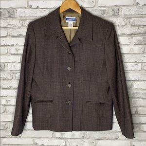 Pendleton Vintage 100% Wool Women's Blazer